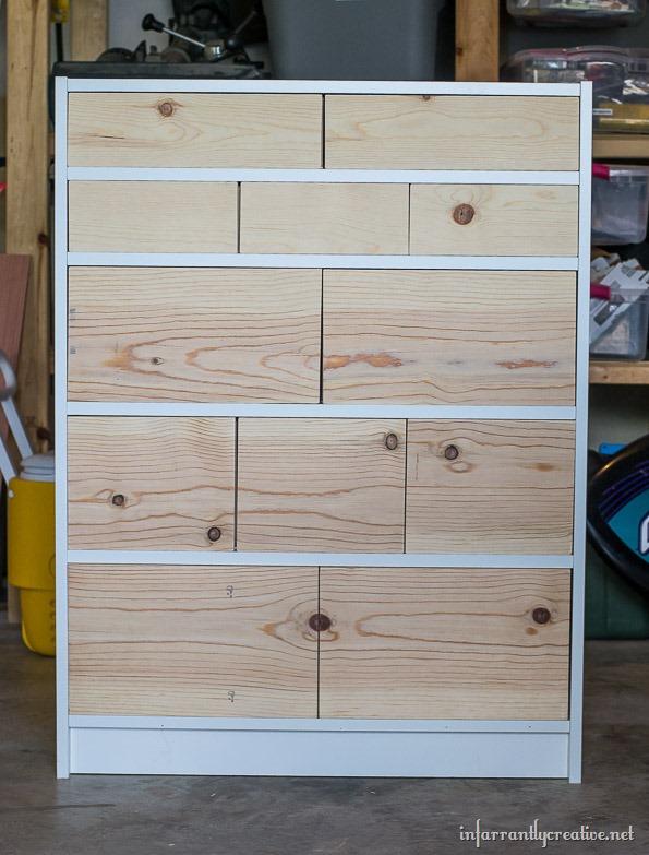 ikea billy bookcase dresser