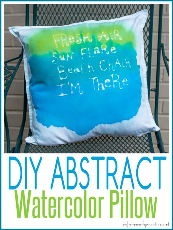 Fresh Air, Sun Flare, Beach Chair, I'm There! Pillow