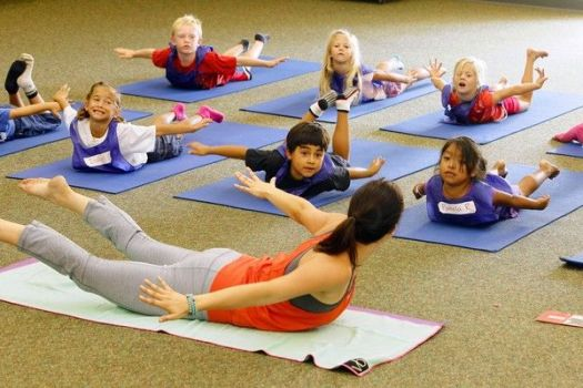 Yoga camp for kids