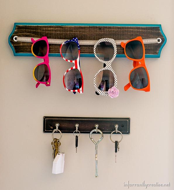 sunglass organizer
