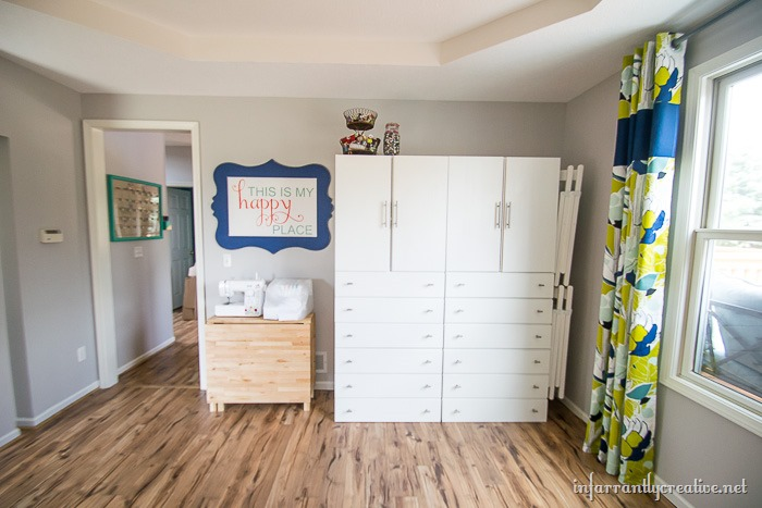 craft studio makeover