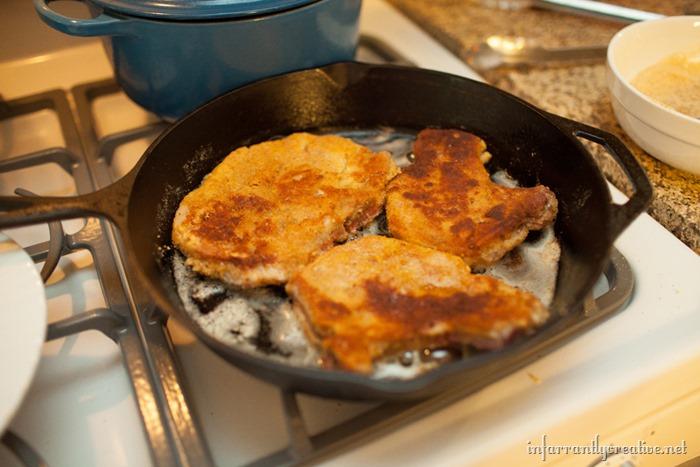 apple pork chops