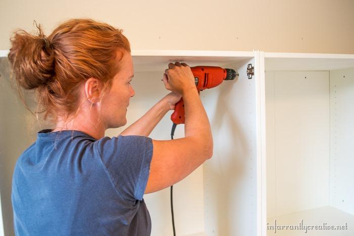 installing-ivar-cabinets