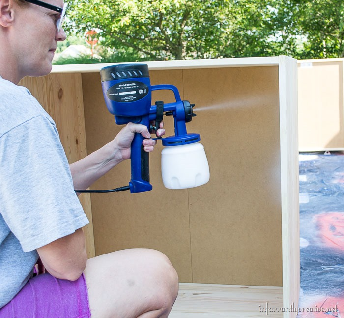 spraying-ivar-cabinets