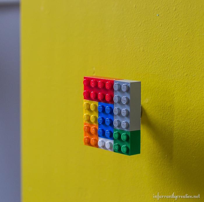 DIY lego knobs