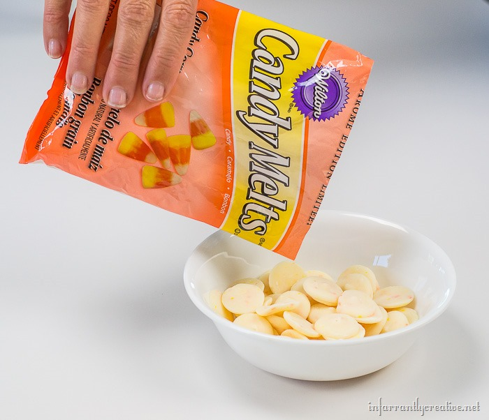 wilton candy corn candy melts