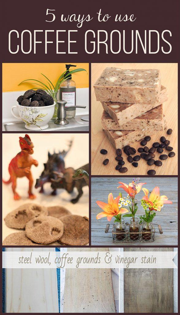 5 Ways to Use Coffee Grounds