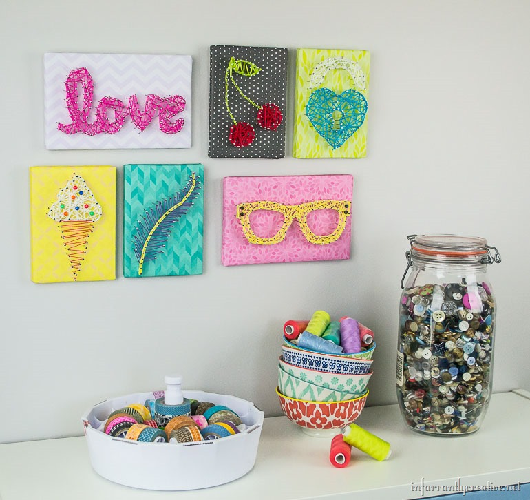 string art gallery wall (2)