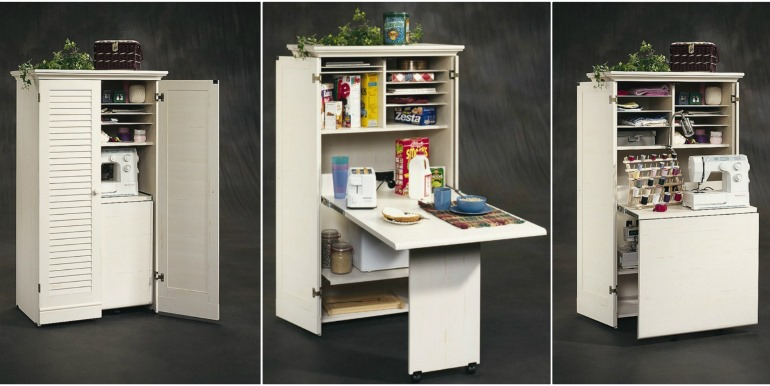 Gentil Craft Table Armoire