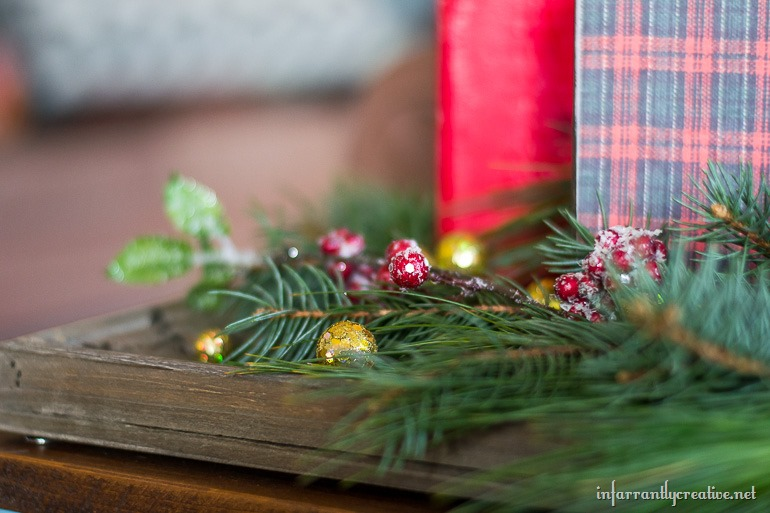 evergreen rustic christmas village
