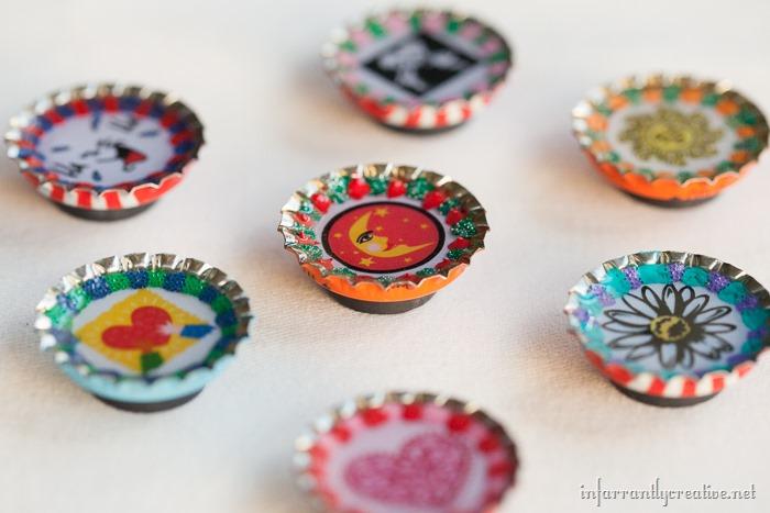 Bottlecap Magnets (2)