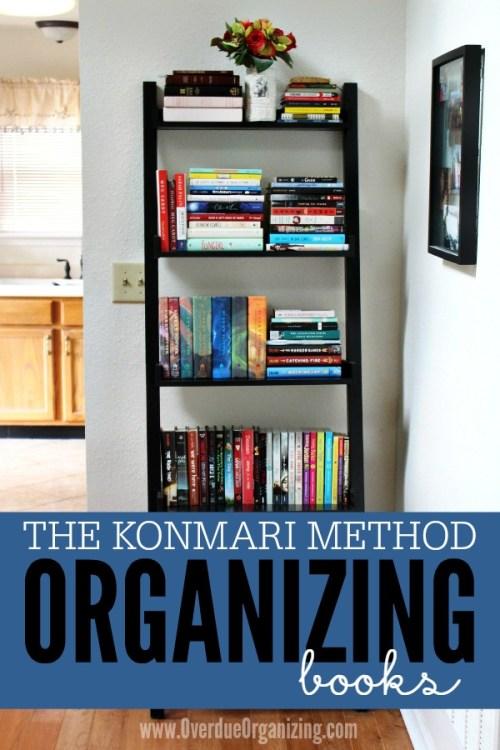 Konmari-Method-Organizing-Books