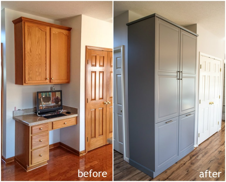How To Assemble An Ikea Sektion Pantry, Assembled Kitchen Pantry Cabinet