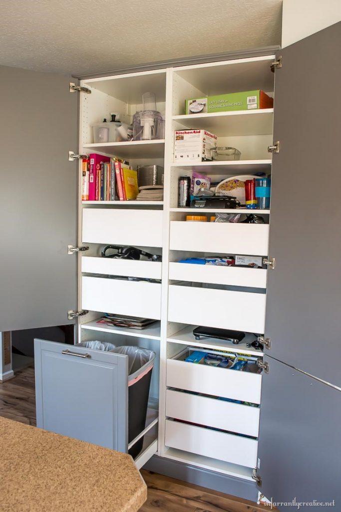 How to Assemble an IKEA Sektion Pantry Infarrantly Creative