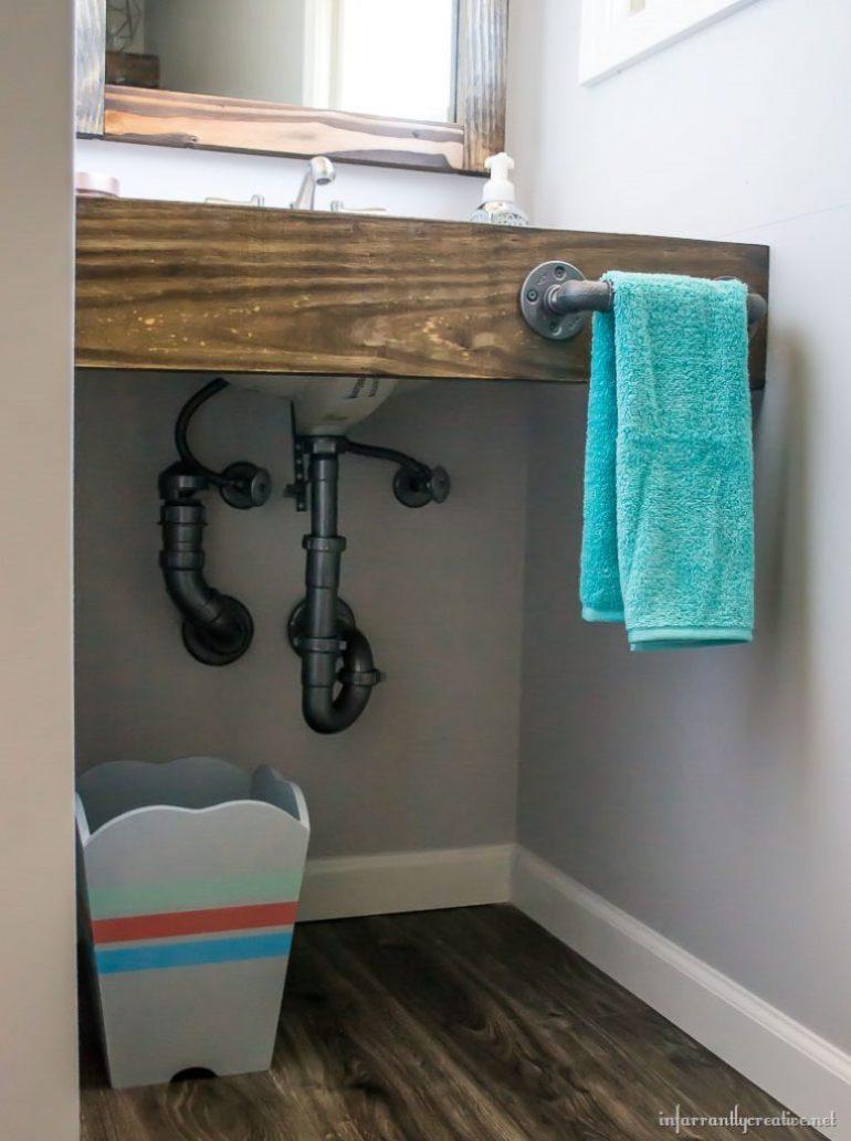 plumbing parts hand towel holder