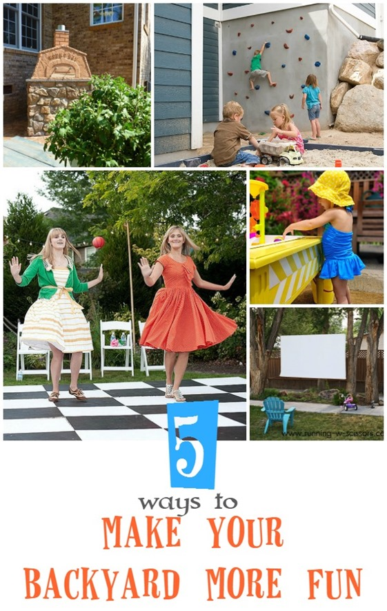5 Ways to Make Your Backyard More Fun