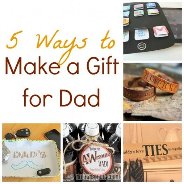5 Ways to Make a Gift for Dad
