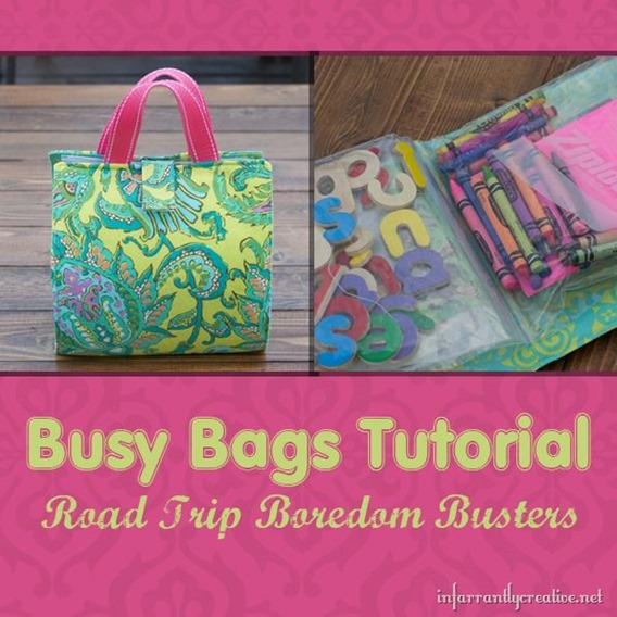 Busy Bag Sewing Tutorial