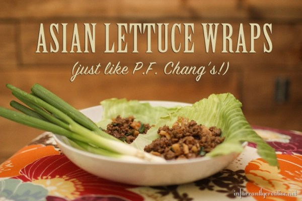 PF Chang's Lettuce Wrap Copycat Recipe