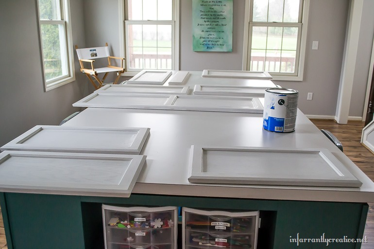Painting Cabinets (2)