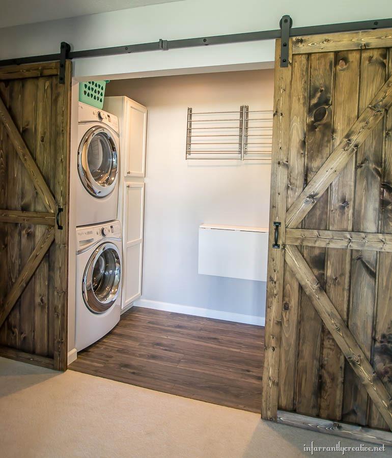 DIY Double Barn Door Plans Infarrantly Creative