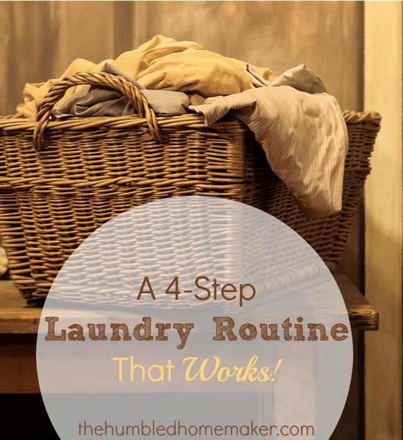 4-Step Laundry Routine That Works