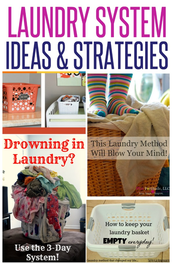 Here are five non-traditional approaches to doing laundry and tips and tricks that save precious time!