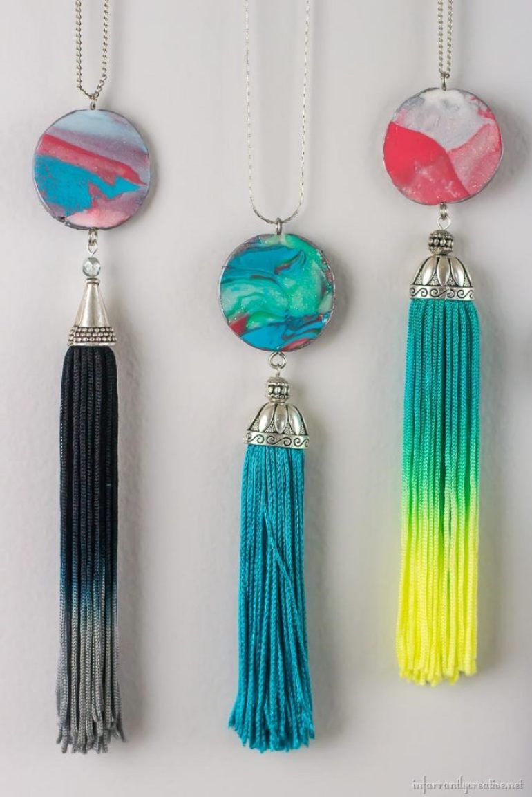 marble-clay-pendants-with-fringe