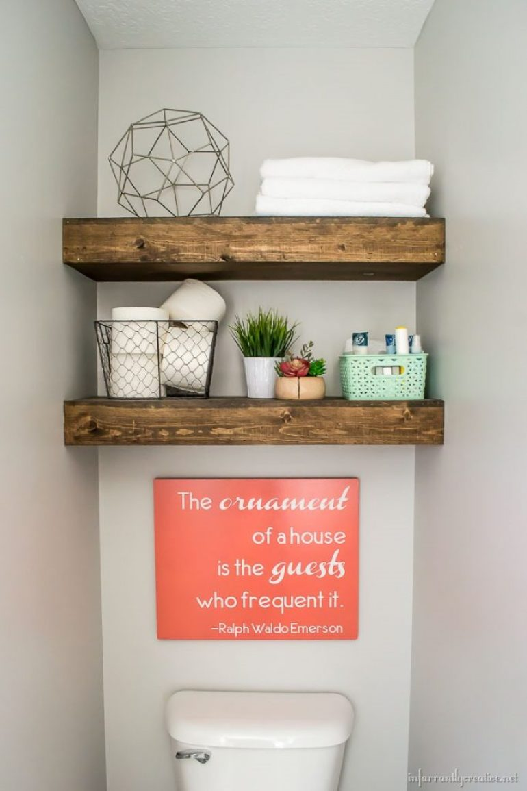 Guest Bathroom Reveal Infarrantly Creative