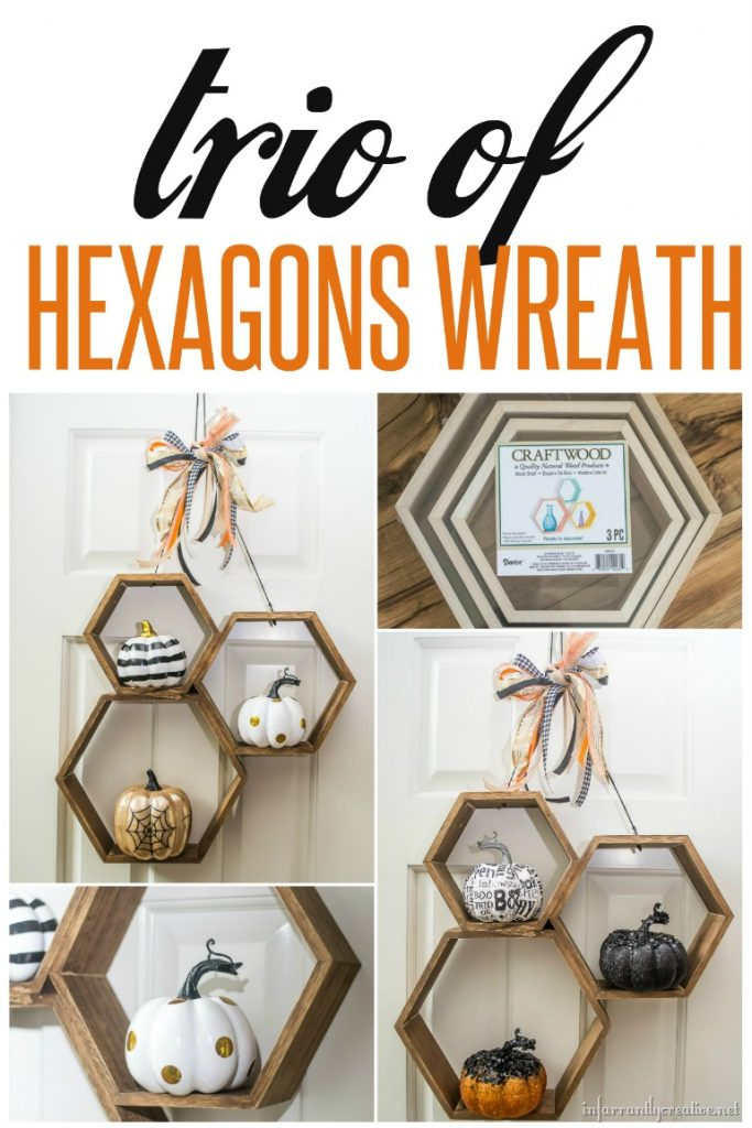 Make Your Own Trio of Hexagons Wreath