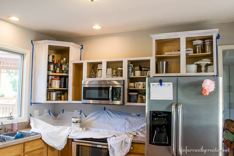 Luxury priming kitchen cabinets
