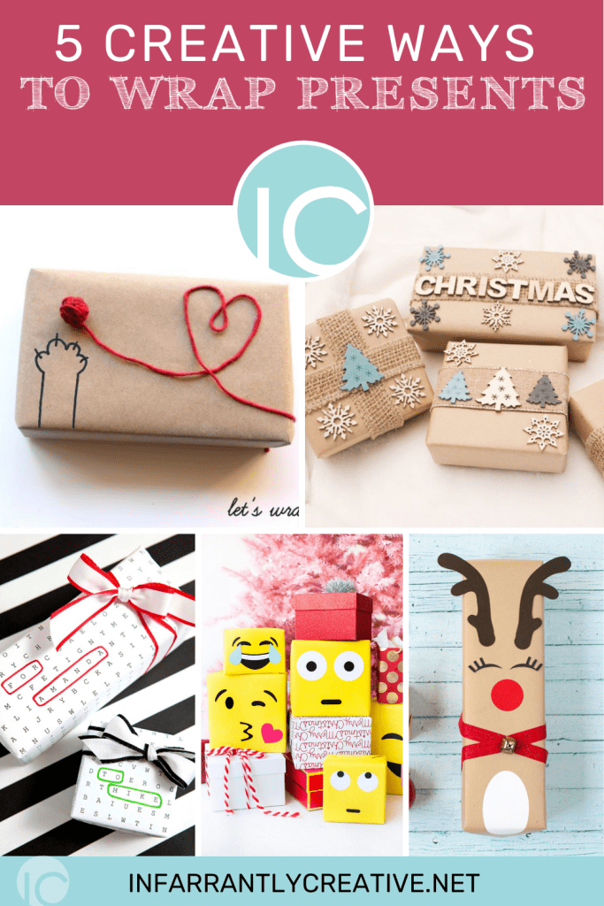 pictures of creative ways to wrap christmas presents