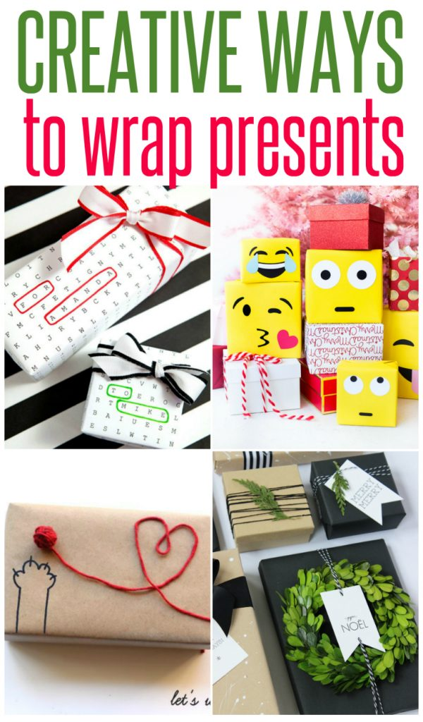 5 Creative Ways to Wrap Presents