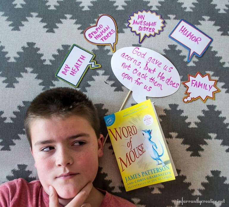 My Son Guest Posts on WORD OF MOUSE by James Patterson (plus giveaway!)