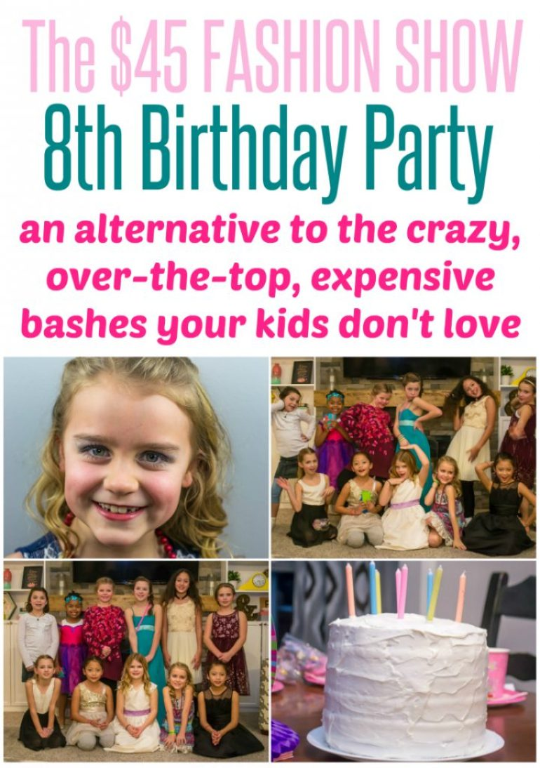 My Daughter\'s 8th Birthday Party - Why I Gave up the Party ...