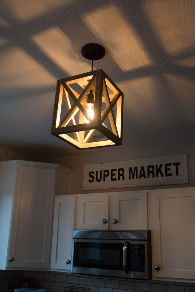 Ideal I purchased a hanging pendant light kit at Lowes but it is cheaper on Amazon