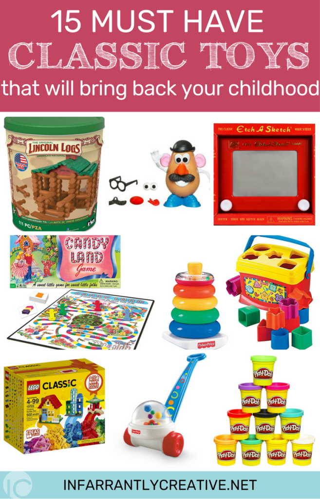 15 Must have classic toys that will bring back your childhood