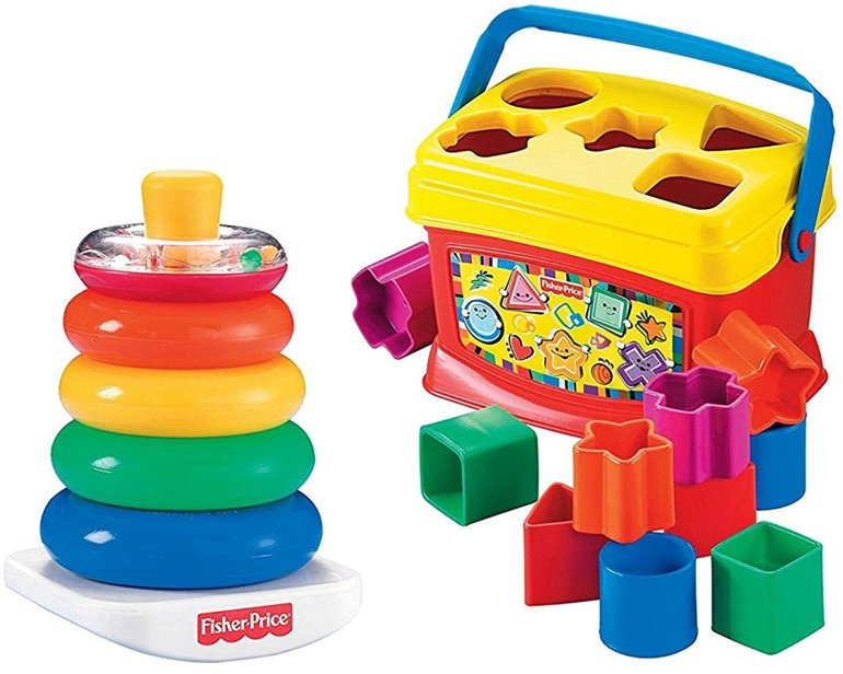 fisher price blocks rock a long stacker
