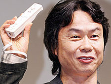 Miyamoto Holding Wiimote
