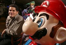 Reggie and Wii shortages