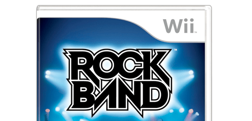 Rock Band Wii box art