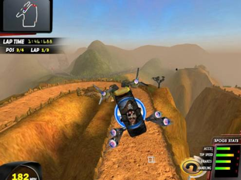 SPOGS Racing Wii