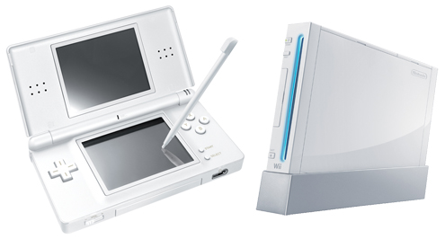 Nintendo Wii and Nintendo DS
