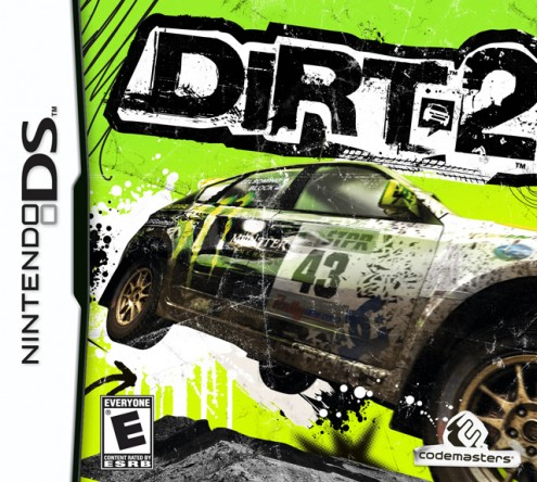 DiRT 2 Box Art - DS - Rated E