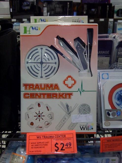 Trauma Center Wiimote Add-on