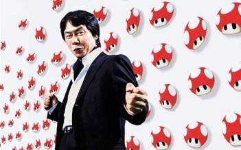 miyamoto flexing his muscles