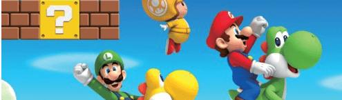 New Super Mario Bros Wii Contest