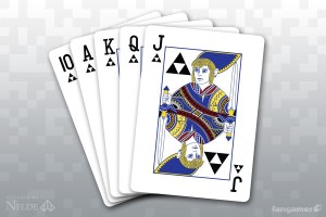 Zelda deck of cards
