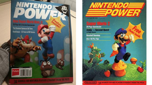 Final Nintendo Power Cover