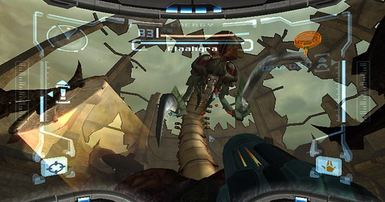 Metroid Prime Chozo Ruins boss battle